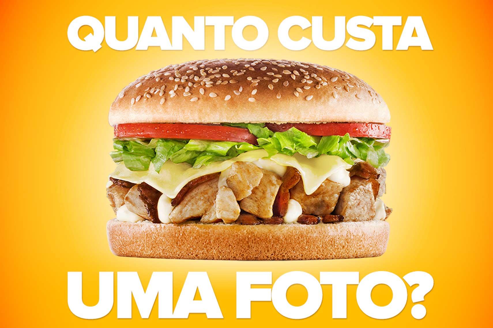 Quanto custa fotografia de alimento? Quanto custa contratar um fotógrafo especialista? Qual o prazo de entrega?